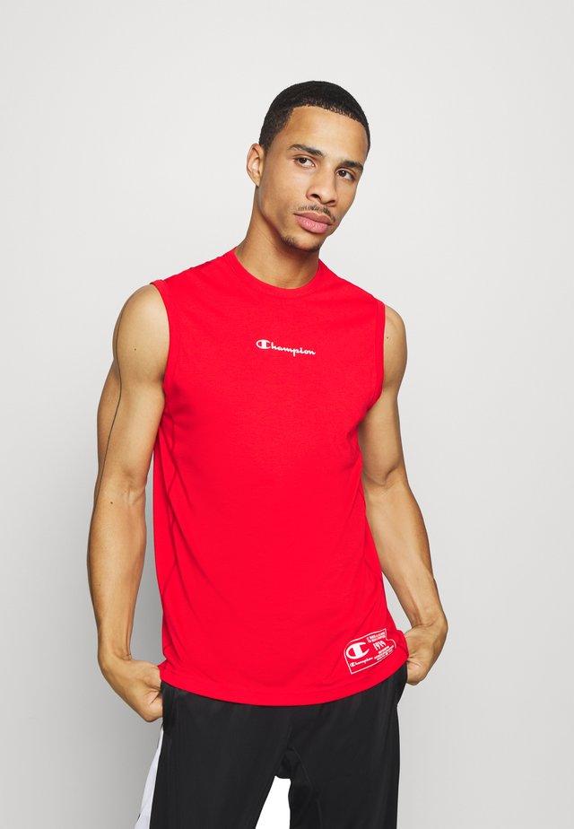 LEGACY TRAINING CREWNECK SLEEVELESS - Treningsskjorter - red