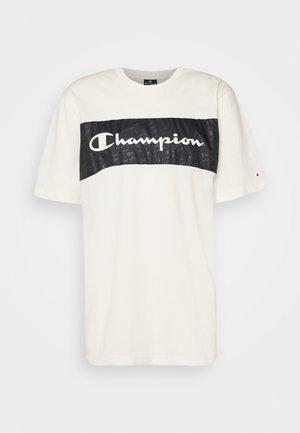 LEGACY HERITAGE TECH SHORT SLEEVE - T-Shirt print - offwhite/black
