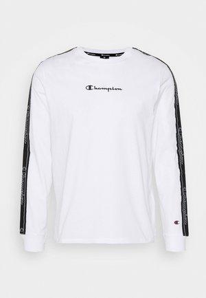 LEGACY TAPE LONG SLEEVE - Pitkähihainen paita - white