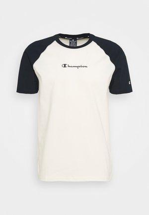 LEGACY CREWNECK  - T-shirt imprimé - off white/dark blue