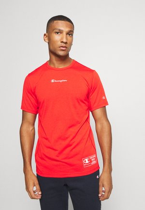 LEGACY TRAINING CREWNECK - Print T-shirt - red