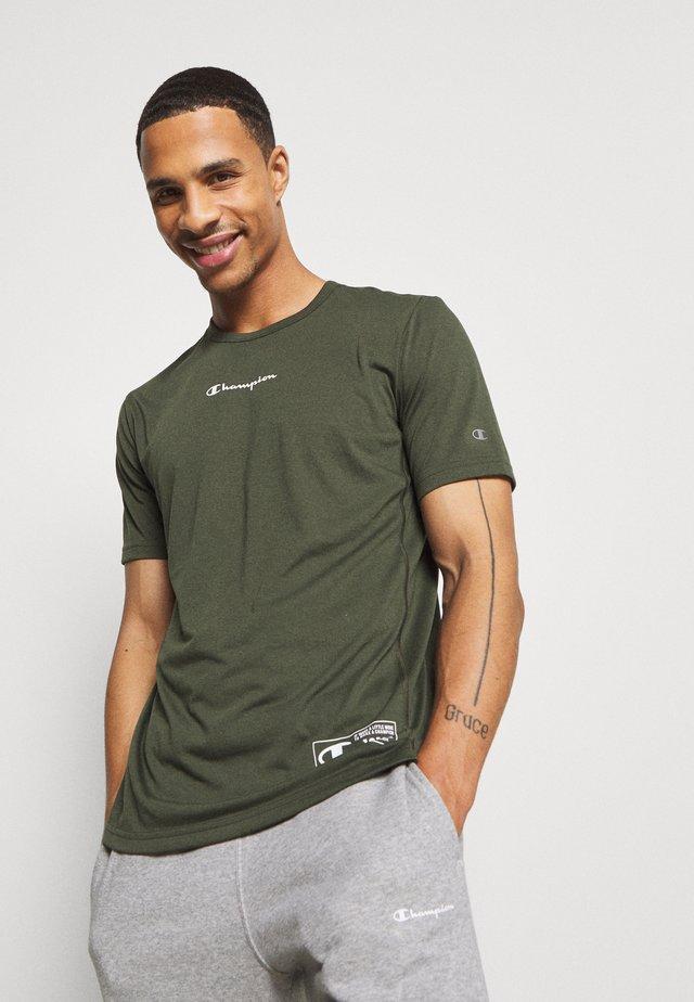 LEGACY TRAINING CREWNECK - T-shirts med print - khaki