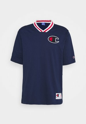 ROCHESTER RETRO BASKET V NECK - T-shirt imprimé - dark blue