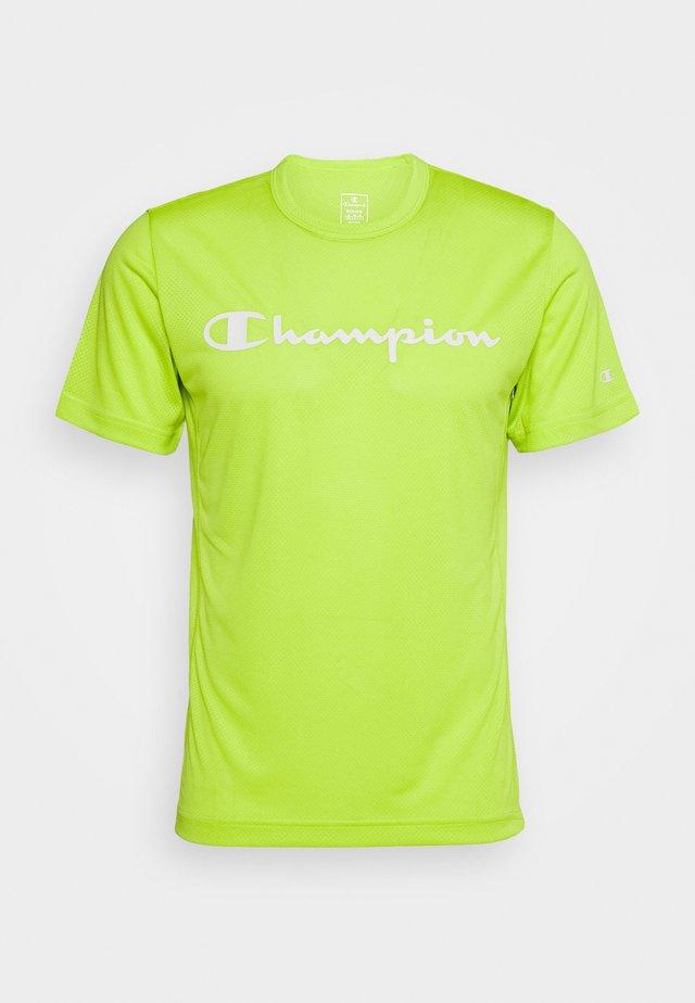 LEGACY TRAINING CREWNECK - Print T-shirt - neon green