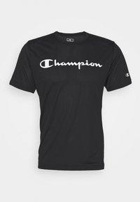 Champion - LEGACY TRAINING CREWNECK - Triko spotiskem - black - 4