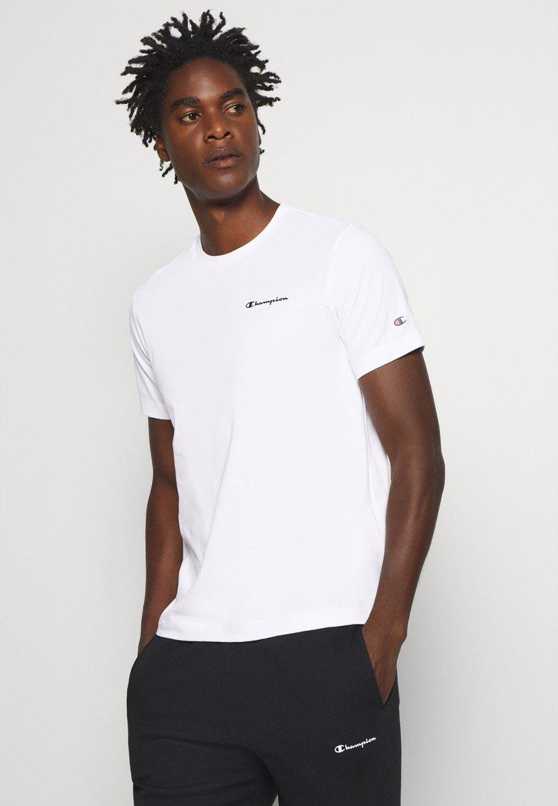 Champion - LEGACY CREWNECK - Basic T-shirt - white