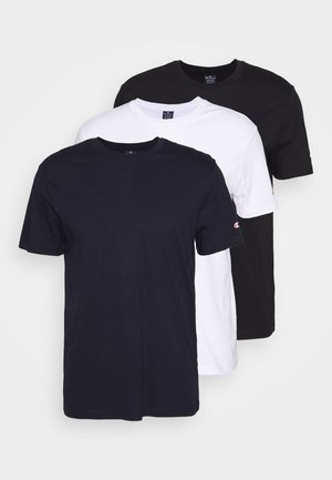 LEGACY CREW NECK 3 PACK - Jednoduché triko - white/dark blue/black