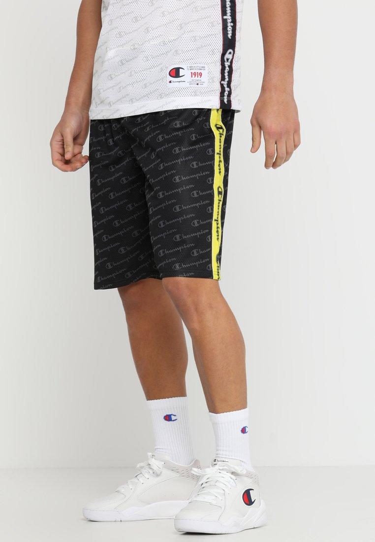 Champion - ROCHESTER STRIPE SHORT - Pantalón corto de deporte - black