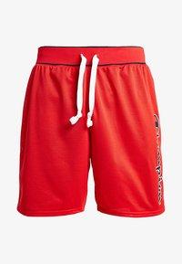 Champion - ROCHESTER SHORT - Sports shorts - red/navy - 4