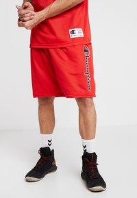 Champion - ROCHESTER SHORT - Sports shorts - red/navy - 0