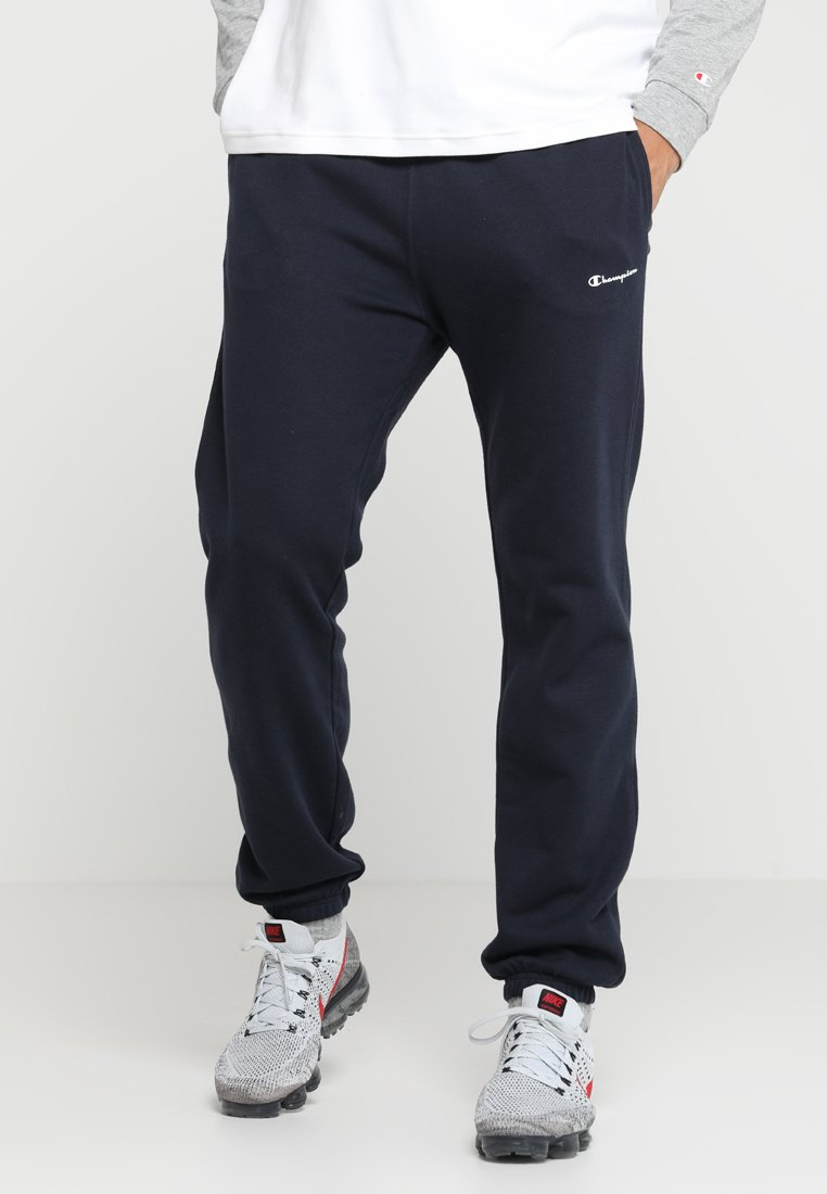 Champion - ELASTIC CUFF PANTS - Trainingsbroek - dunkelblau