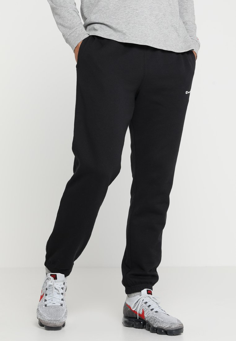 Champion - ELASTIC CUFF PANTS - Tracksuit bottoms - new black