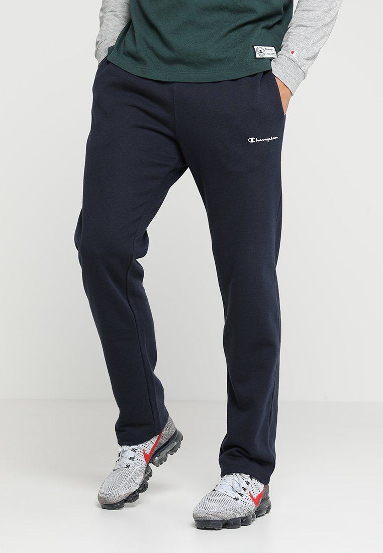 Champion - STRAIGHT HEM PANTS - Trainingsbroek - navy