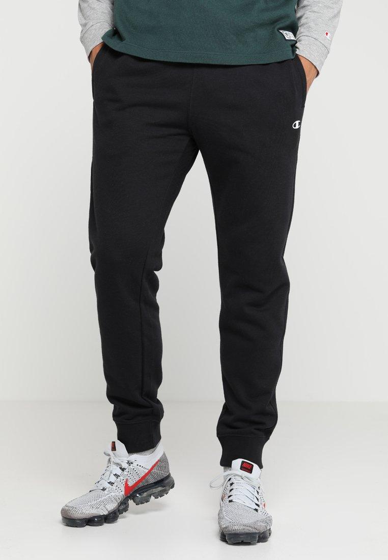 Champion - RIB CUFF PANTS - Træningsbukser - black