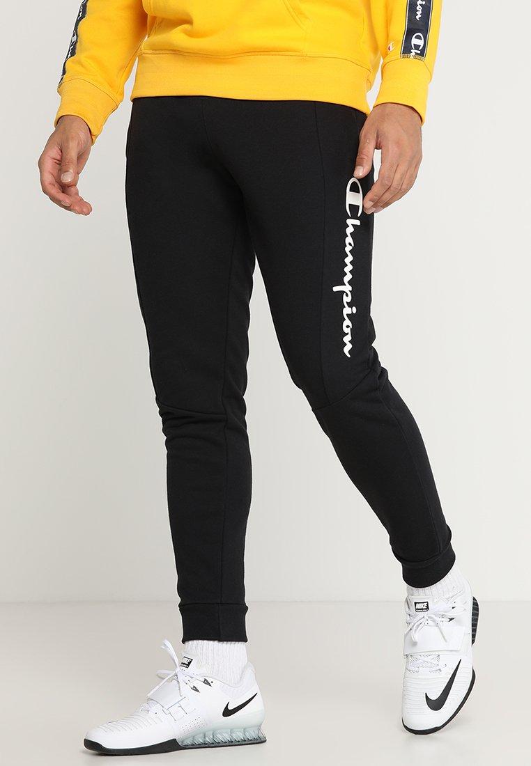 Champion - RIB CUFF PANTS - Trainingsbroek - black