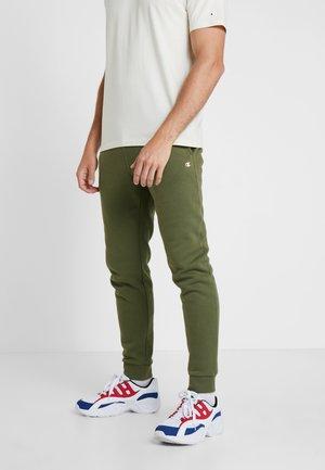 CUFF PANTS - Pantaloni sportivi - olive