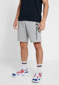 Champion - BERMUDA - Sports shorts - grey melange - 0