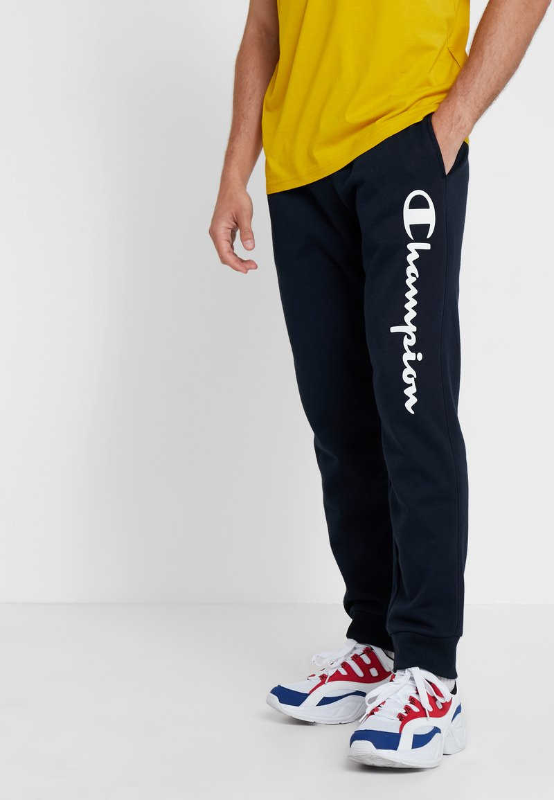 Champion - CUFF PANTS - Pantaloni sportivi - dark blue