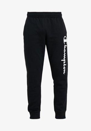 CUFF PANTS - Spodnie treningowe - black
