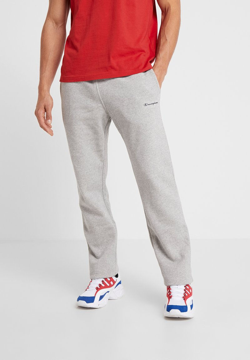 Champion - STRAIGHT HEM PANTS - Pantalones deportivos - grey