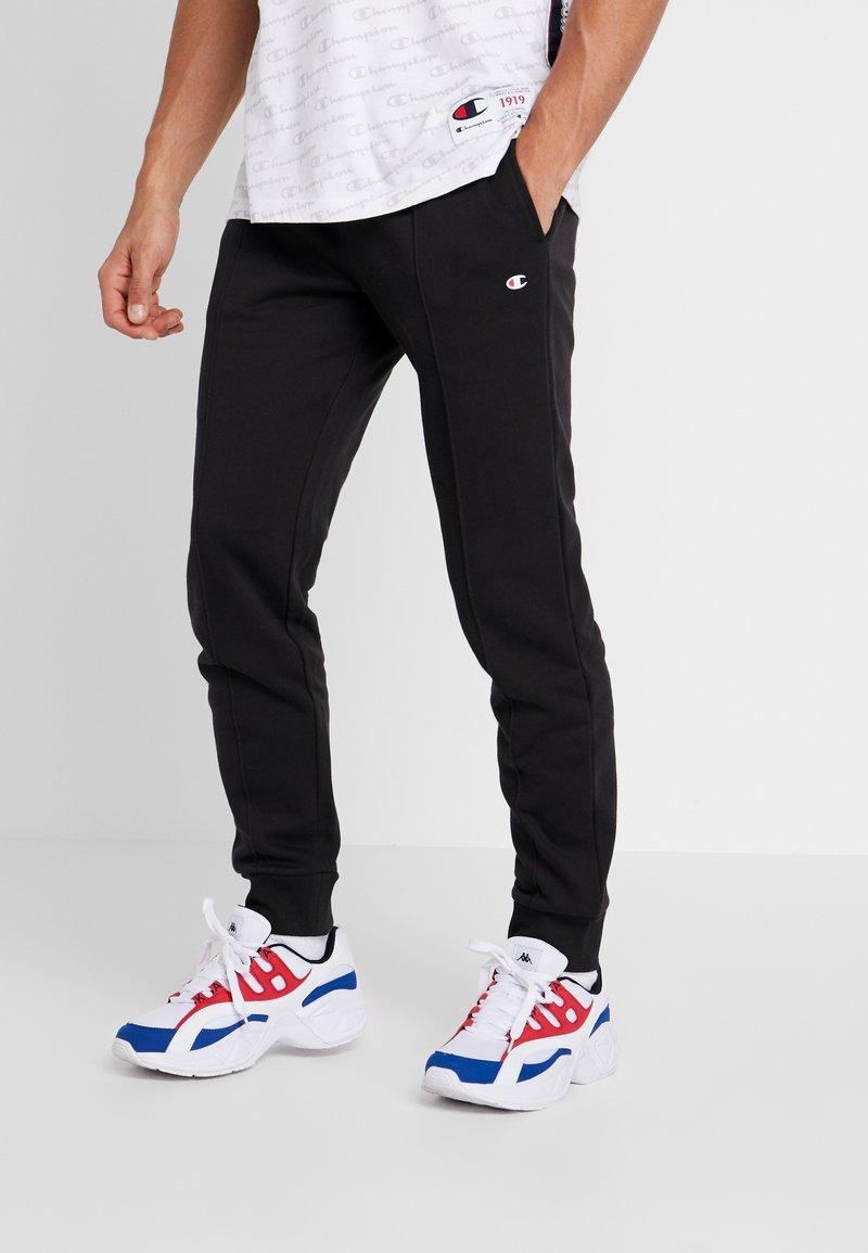 Champion - CUFF PANTS - Pantalon de survêtement - black