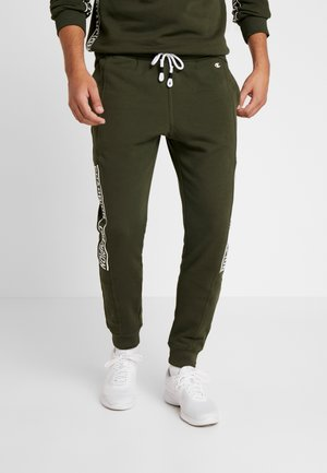 CUFF PANTS - Tracksuit bottoms - dark green