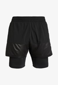Champion - RUN SHORTS - Pantalón corto de deporte - black - 4