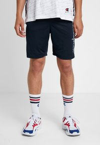 Champion - RUN BERMUDA - Sports shorts - dark blue - 0