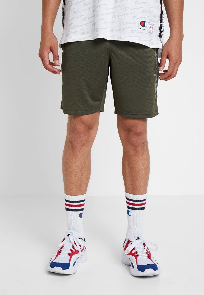 Champion - RUN BERMUDA - Sports shorts - dark green