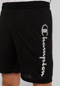 Champion - RUN BERMUDA - Sports shorts - black - 4