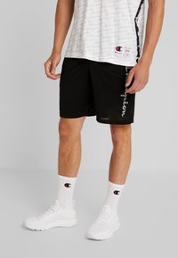 Champion - RUN BERMUDA - Sports shorts - black - 0