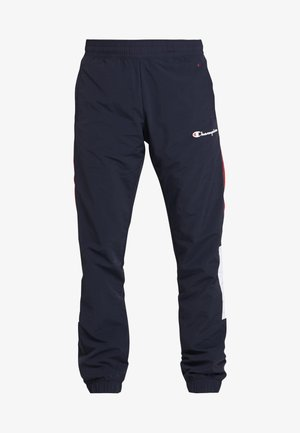 HALF BUTTON PANT - Tracksuit bottoms - night/white/heather