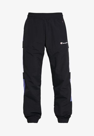 HALF BUTTON PANT - Tracksuit bottoms - night