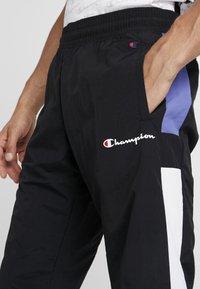 Champion - HALF BUTTON PANT - Tracksuit bottoms - night - 4