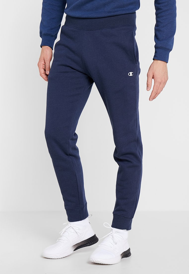 Champion - RIB CUFF PANTS - Pantalon de survêtement - dark blue