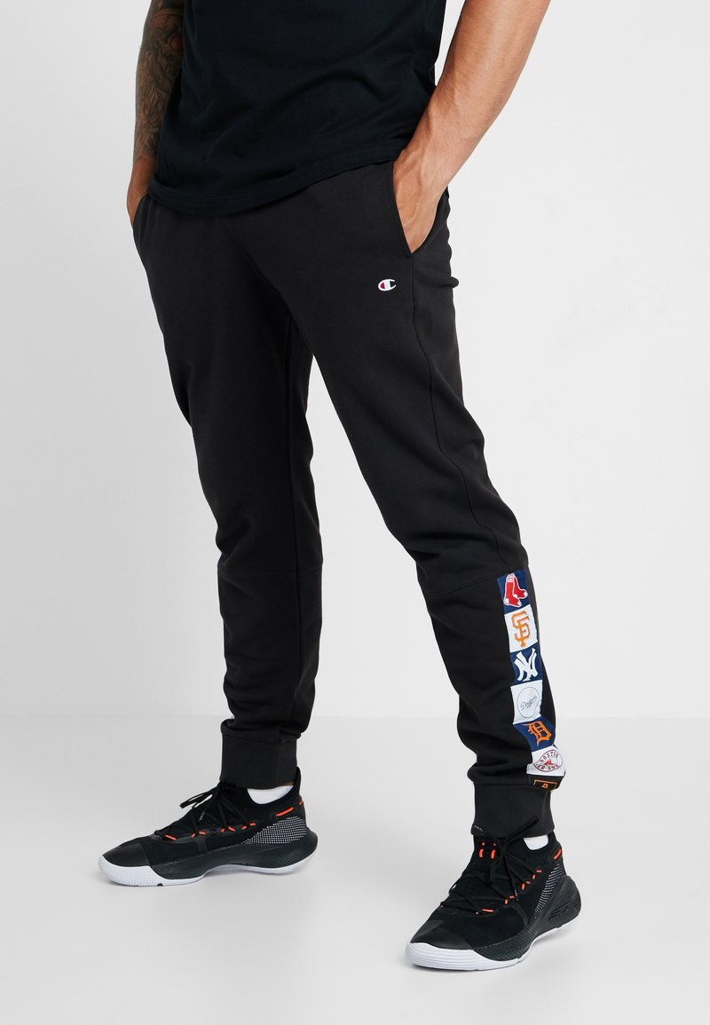 Champion - MLB MULTITEAM CUFF PANTS - Tracksuit bottoms - black