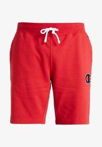 Champion - LOGO BERMUDA - Sports shorts - rio red - 3