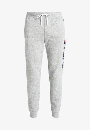 LOGO RIB CUFF PANTS - Pantalon de survêtement - light grey melange