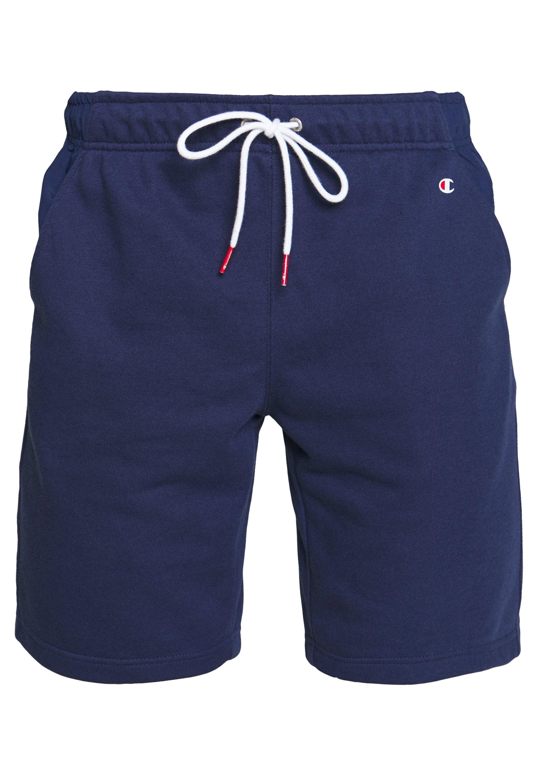 Champion LOGO BERMUDA - Pantaloncini sportivi - dark blue