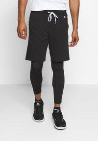 Champion - LOGO BERMUDA - Pantaloncini sportivi - black - 0