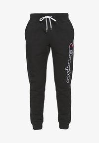 Champion - ROCHESTER CUFF PANTS - Teplákové kalhoty - black - 3