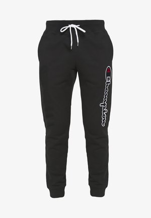 ROCHESTER CUFF PANTS - Tracksuit bottoms - black