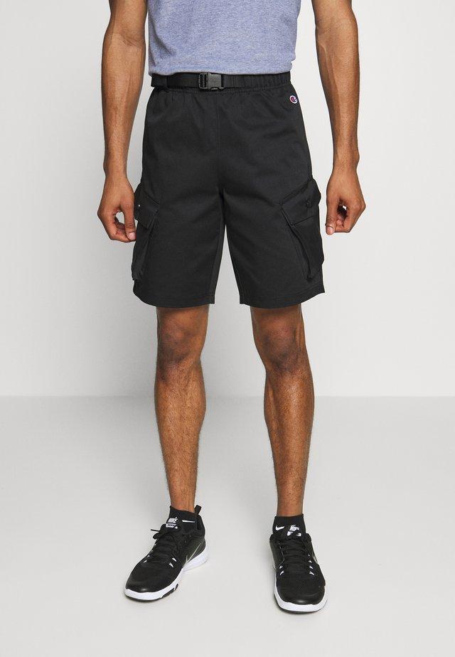 ROCHESTER WORKWEAR BERMUDA - Pantaloncini sportivi - black