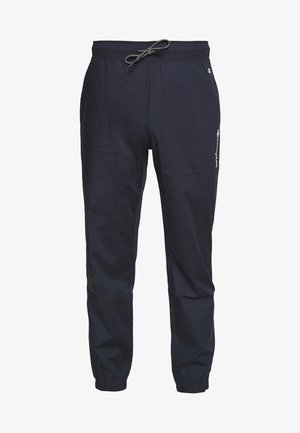 ELASTIC CUFF PANTS - Pantalon de survêtement - dark blue