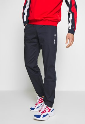 ELASTIC CUFF PANTS - Tracksuit bottoms - dark blue