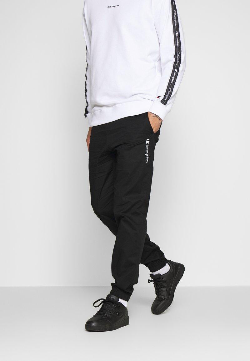 Champion - ELASTIC CUFF PANTS - Pantalon de survêtement - black
