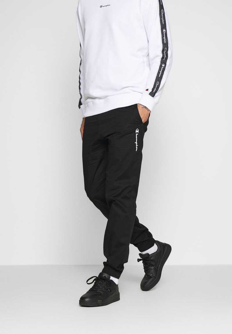 Champion - ELASTIC CUFF PANTS - Spodnie treningowe - black
