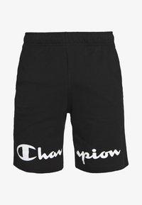 Champion - BIG LOGO BERMUDA - Sports shorts - black - 4