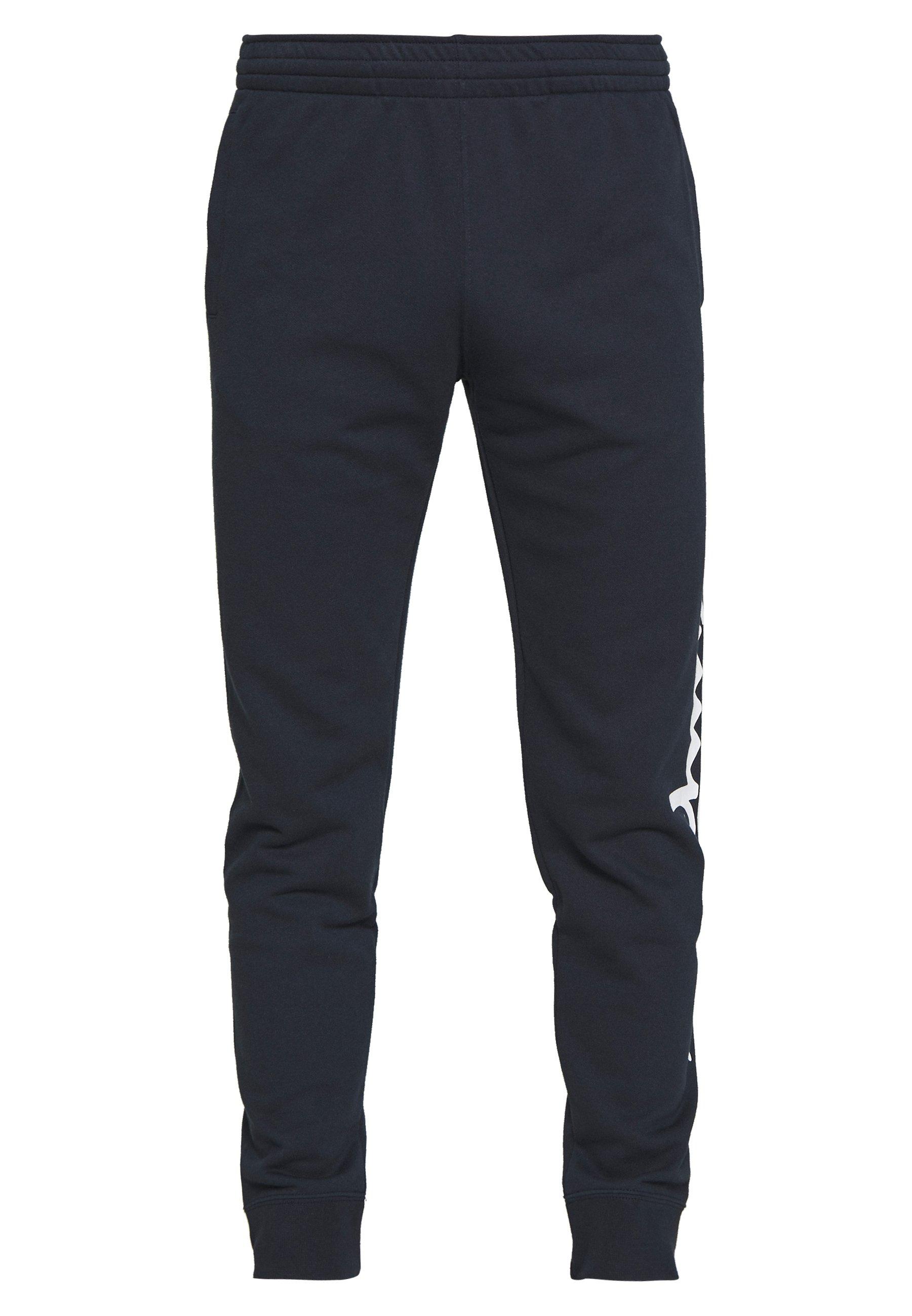 Champion BIG LOGO CUFF PANTS - Pantaloni sportivi - dark blue