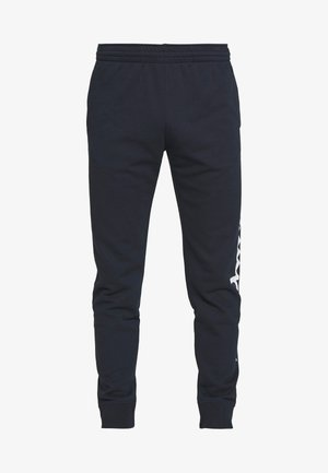BIG LOGO CUFF PANTS - Pantalones deportivos - dark blue